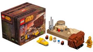 Lego's tiny Tatooine playset includes an adorable mini Sandcrawler