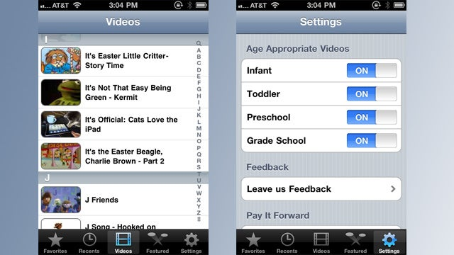 Gube Curates Kid-Safe YouTube Videos for iOS