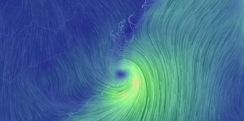 Five Beautiful GIFs of Hurricane Arthur Show Nature's Terrifying Power