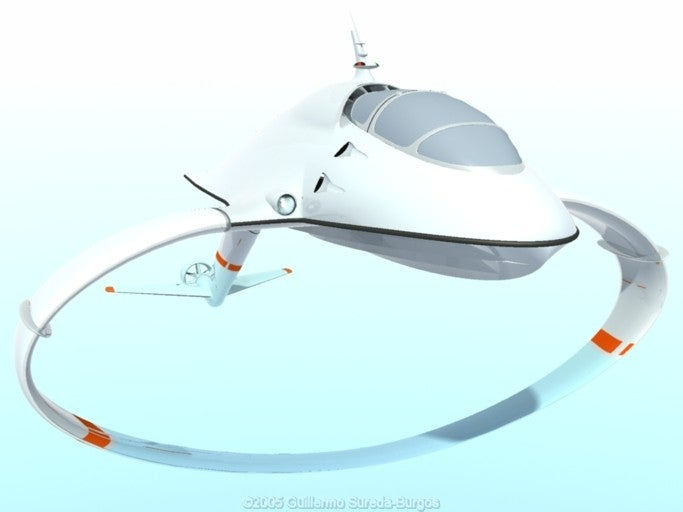 Uber Hydrofoil Design Concept Aims to Replace Business Jets