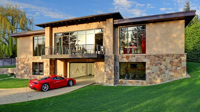 This $4 Million Garage Comes With A Very Nice House
