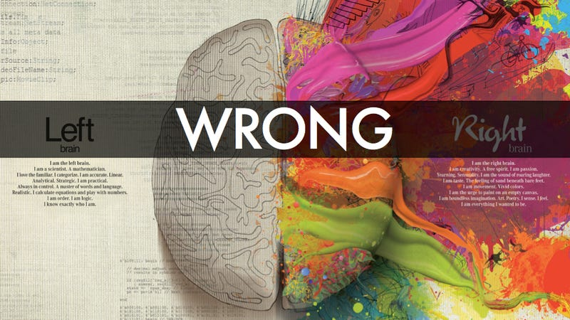 Why The Left-Brain Right-Brain Myth Will Probably Never Die