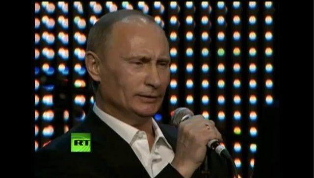 Vladimir Putin's Manifold Talents Extend to Crooning Golden Oldies