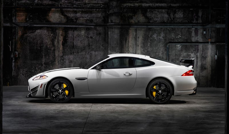 The XKR-S GT Is The Jaaag With A Massive Wing, Carbon Brakes, And The Face Of A Stormtrooper