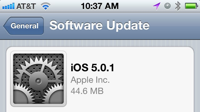iOS 5.0.1 Update Now Available to Install and Improve Your Battery Life, Add Multitasking Gestures to iPad