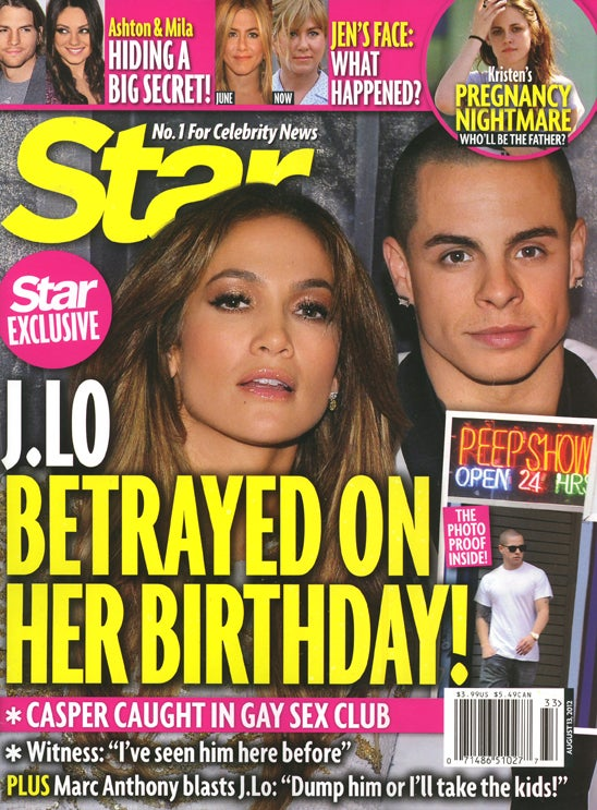 This Week In Tabloids: J. Lo's Boyfriend Loves a Good Gay Glory Hole