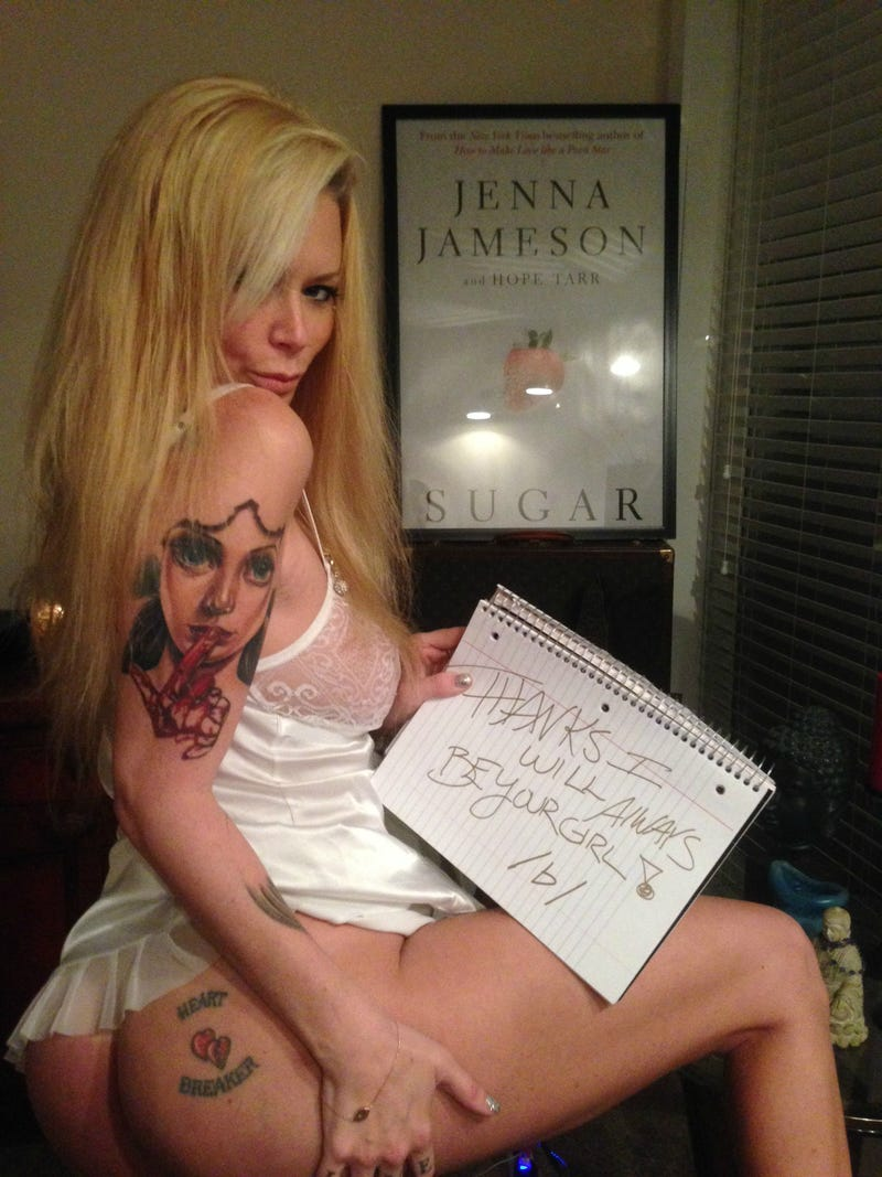 Jenna Jameson Uses Her Tits to Turn 4chan Into Her Personal Army [NSFW]