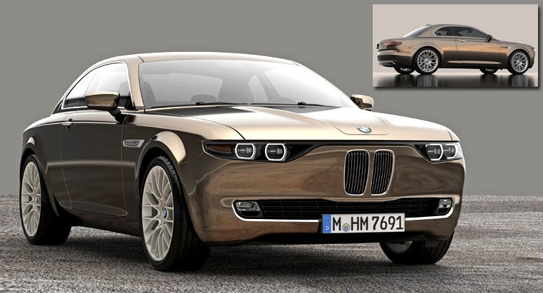 BMW CS Vintage Concept brings some retro styling to the table