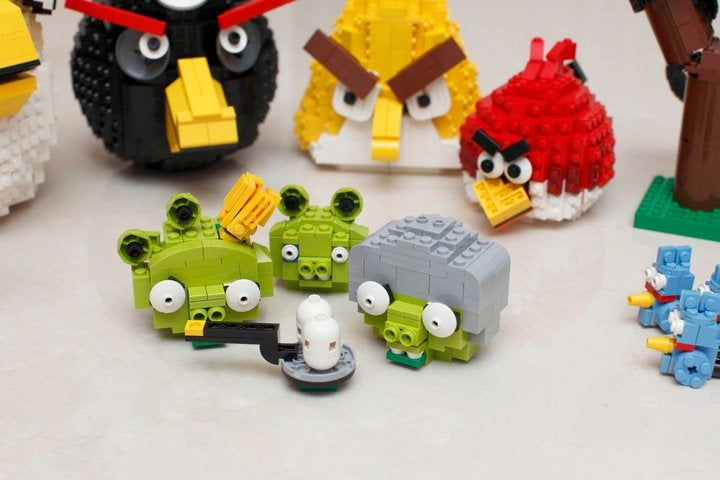 These LEGO Brick Birds Are Angrier Than Ever