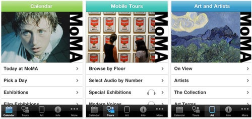MoMA iPhone App Puts a Museum in Your Pocket