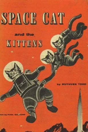 Further proof that cats and space go together like Kirk and Spock