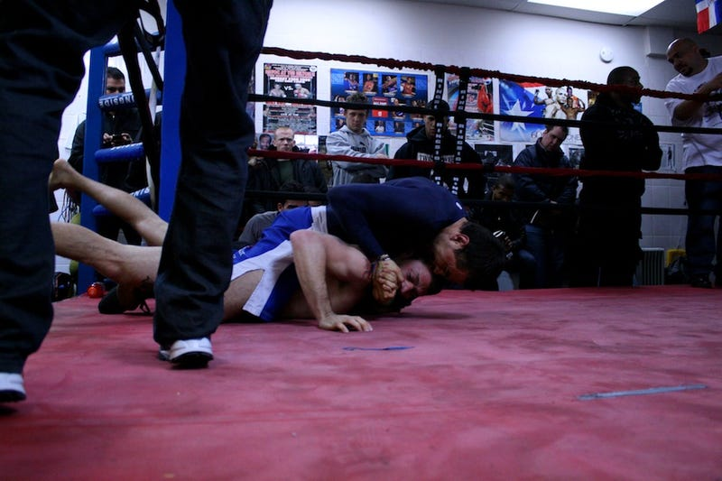 A Ringside View of the Ultimate Combat League