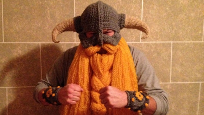This Skyrim Costume Turns Dovahkiin Into DovahCuddle