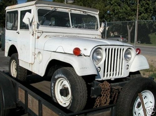 1953 Willys Military Jeep for a Troop-Rallying $5,700!