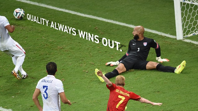 The United States Had To Lose; They Didn't Have To Lose Valiantly