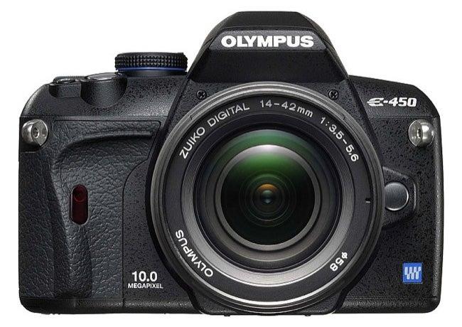 Olympus E-450 Improves Slightly On E-420 Entry-Level DSLR