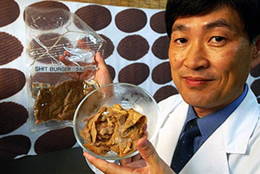 Would You Eat a Burger Made from Poop?