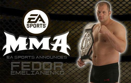 EA Signs Fedor Emelianenko For EA Sports MMA