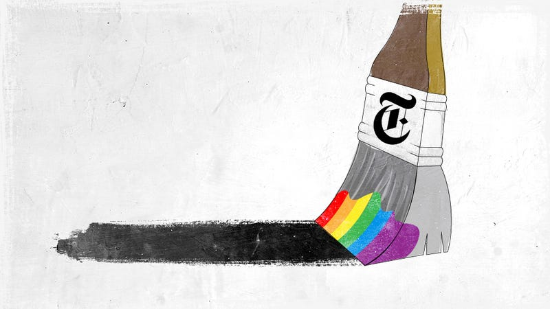 The New York Times' Gay Panic Reflex