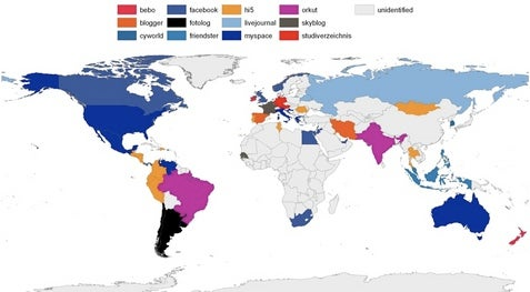 Rest of world enjoys social networks, running water, electricity