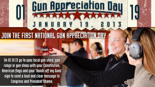 January 19 Is America's First National 'Gun Appreciation Day'