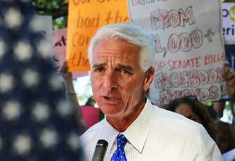 Charlie Crist Vetoes Insane Abortion Guilt-Trip Bill