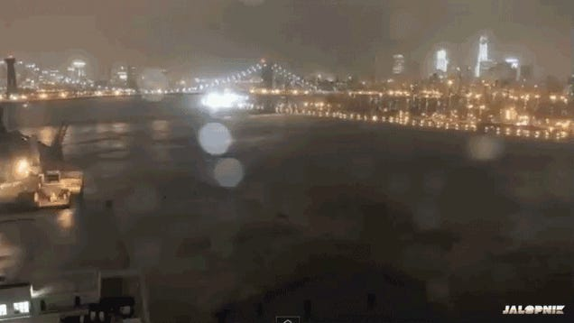The Moment NYC Went Dark