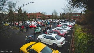 Cars and Coffee Portland 1/24/15