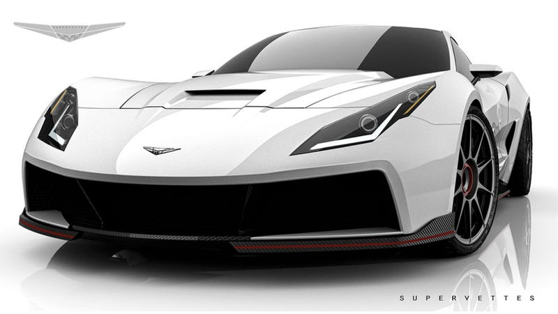 Here's A Body Kit For An Older Corvette That Doesn't Look Like Crap