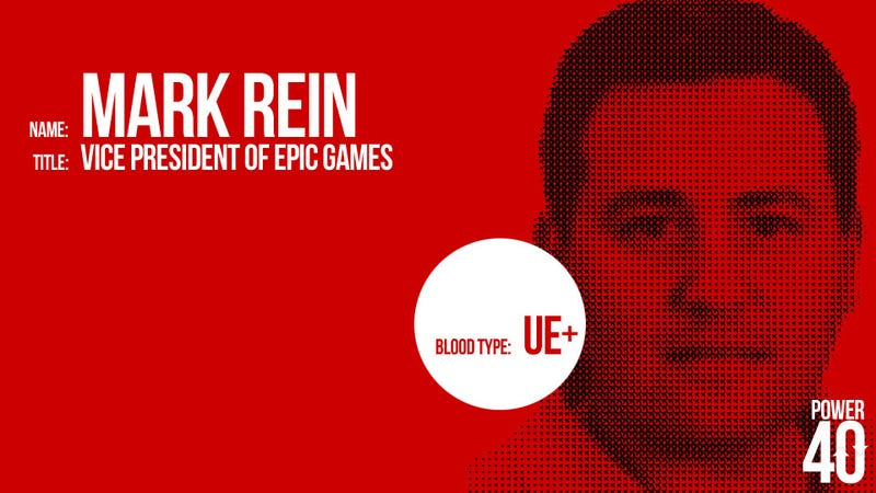 ↓ 15. Mark Rein, Epic Games Vice President