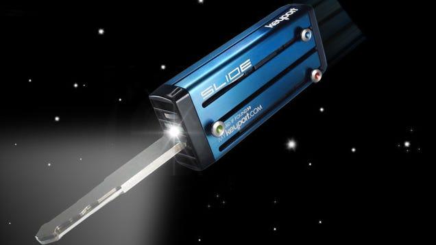 Keyport Slide Key Vault Gets LED Light Inserts