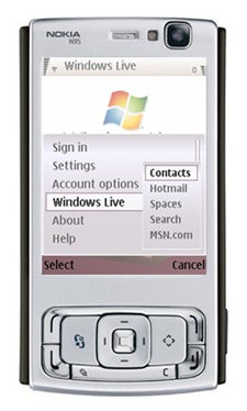 Windows Live for Mobile Hits Nokia S60 Phones