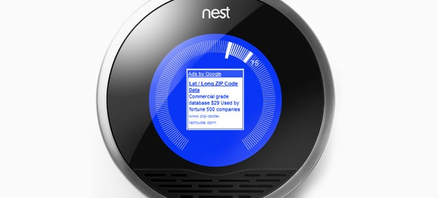 Google Wants to Put Ads on Thermostats (And Everything Else You Own)
