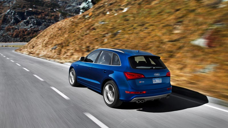 The Audi SQ5: Aluminum Und Gasoline For America
