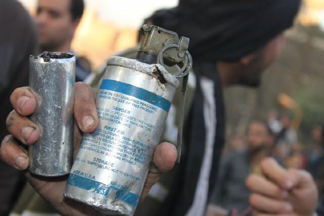 What's Actually Inside the Tear Gas Being Used in Egypt?