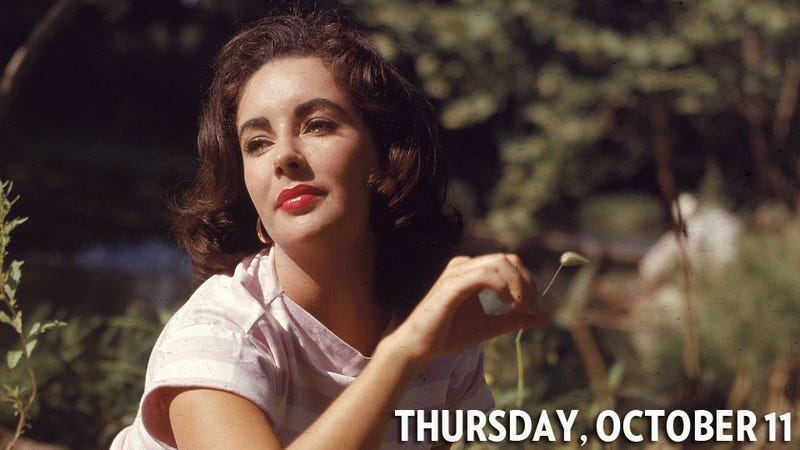 Elizabeth Taylor Had a Threesome With JFK and Another Dude in a Pool