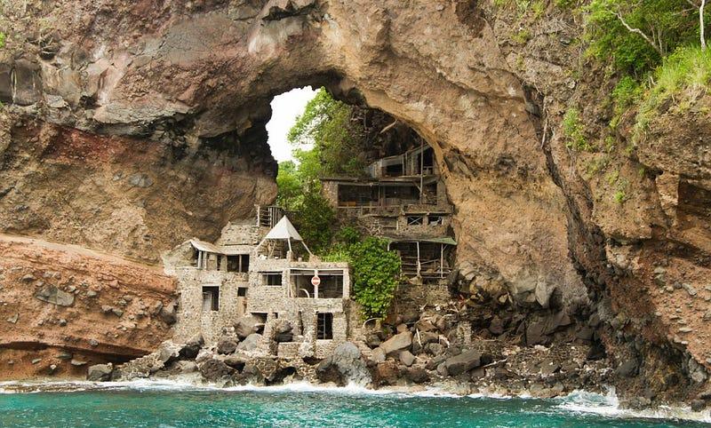 11 casas tan aisladas y remotas que querr s pasar en ellas - Casas enterradas ...