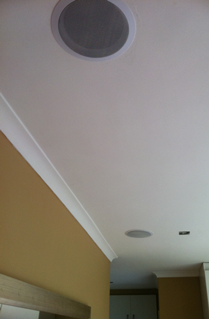 How To Mount Ceiling Speakers And Wirelessly Stream Music