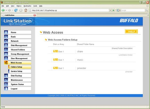 Buffalo Web Access Lets You Snag Files From Anywhere