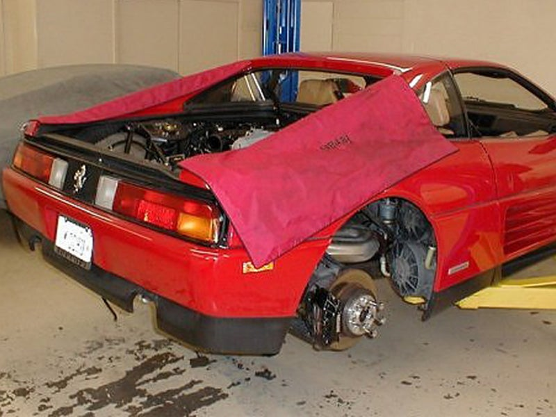 Ferrari 348 TS: Supercar Teardown