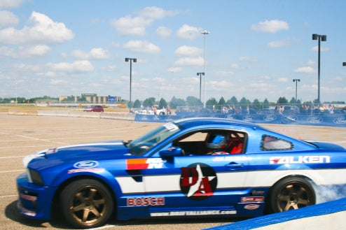 Anatomy Of A Ford Mustang Drift Racer