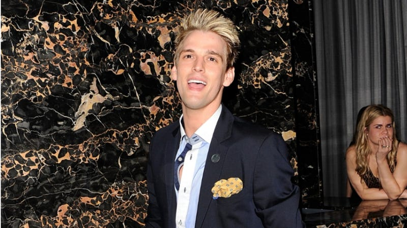 Wittle Baby Aaron Carter Needs a Nap and Takes It Out on His Limo Driver