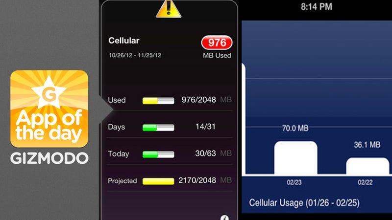Megabytes: Never (Accidentally) Go Over Your Mobile Data Limit Again
