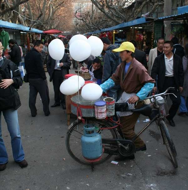 Making Cotton Candy Using a Bike