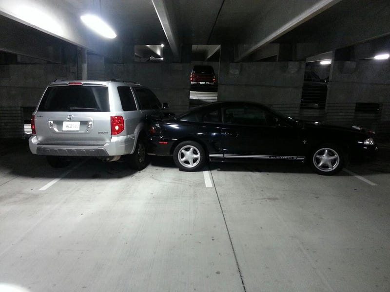 Not Sure if Epic Asshat Parking...