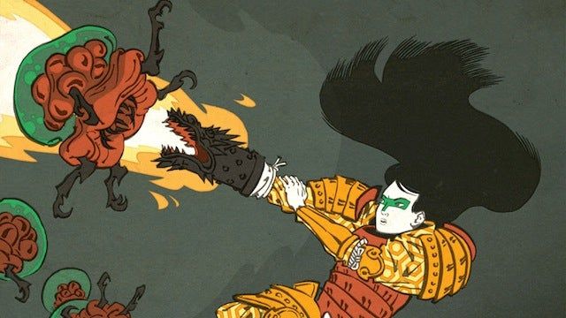Crowdfund a giant rideable robot, geeky woodblock prints, and a new comic by Venom's co-creator
