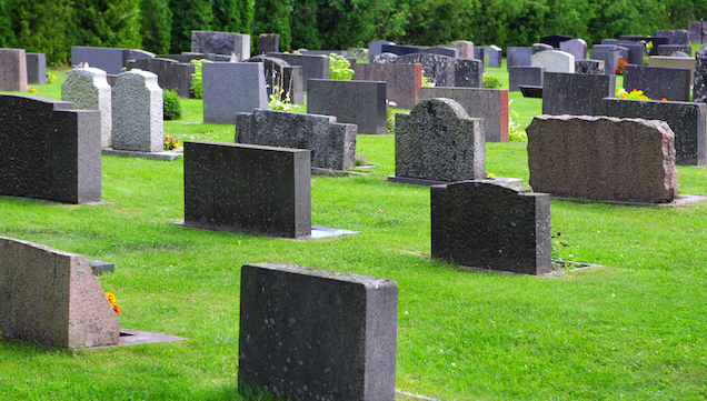 British Man Arrested for Pretending to Be a Ghost In a Cemetery