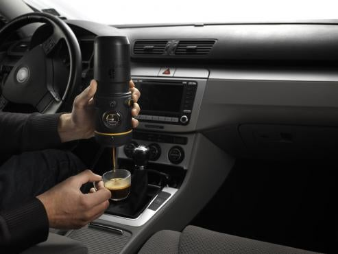 Handspresso Auto: You Can Finally Make Terrible Coffee In Your Car