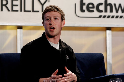 Oversharing doubles every year, says Facebook CEO