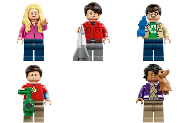 The Official Big Bang Theory LEGO Set Looks Awkwardly Cozy
